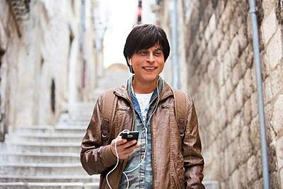 Shah Rukh Khan in a scene from&nbsp;<i>Fan</i>