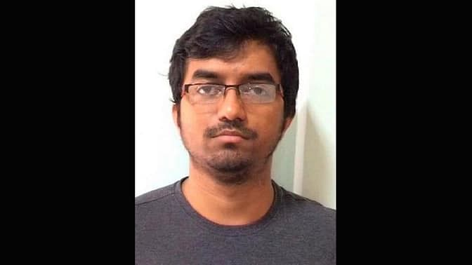 Mehdi Masroor Biswas, is an Indian who is facing trial for ISIS terror activities online. (Photo Courtesy: The News Minute)