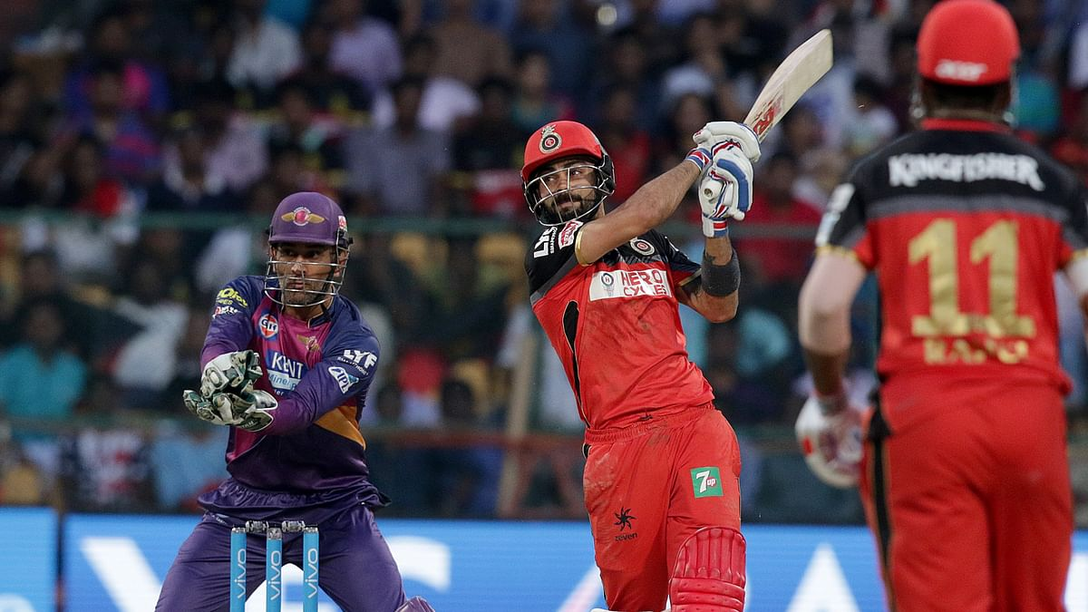 Kohli smashed 8 fours and 7 sixes on his way to his second IPL ton (Photo: BCCI)