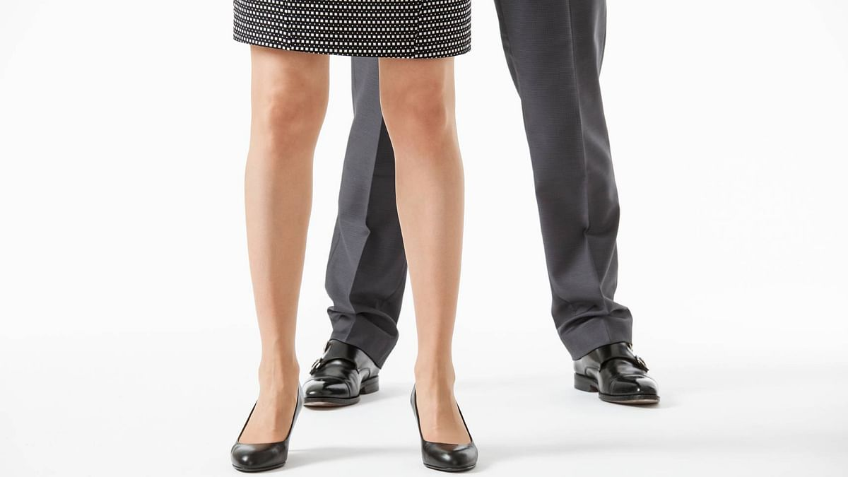 When Thorp arrived on her first day at PwC in December in flat shoes, she was told she had to wear shoes with a 2-4 inch heel. (Photo: iStockphoto)