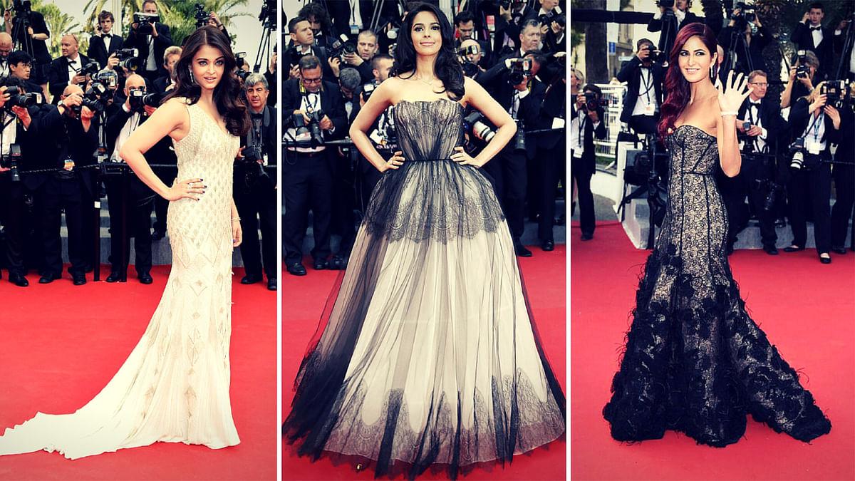 Aishwarya Rai Bachchan, Mallika Sherawat, Katrina Kaif – the Cannes favourites. (YouTube screengrab)