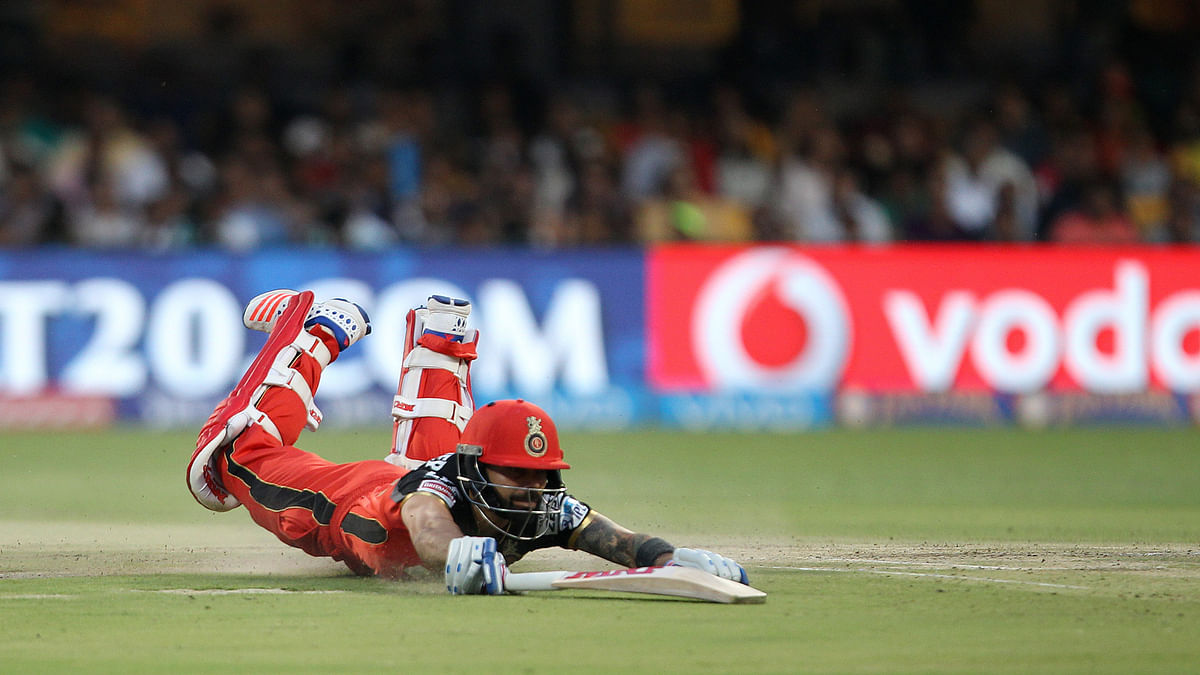 Virat did not just go for big hits as he regularly took singles and doubles throughout the innings (Photo: BCCI)