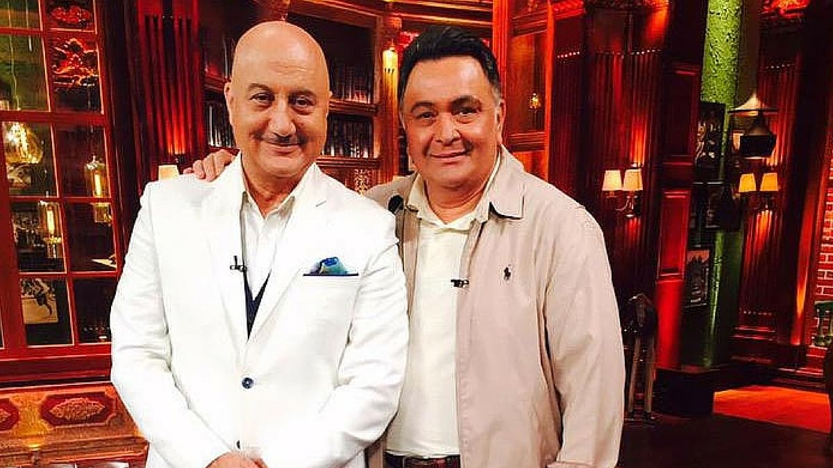 Anupam Kher and Rishi Kapoor: Two of a kind (Photo: Twitter)