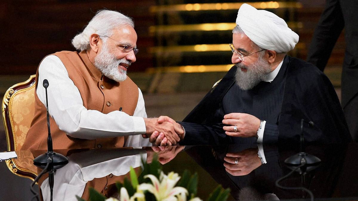 India Hosts Iran's Rouhani With an Eye to Win Big in West Asia