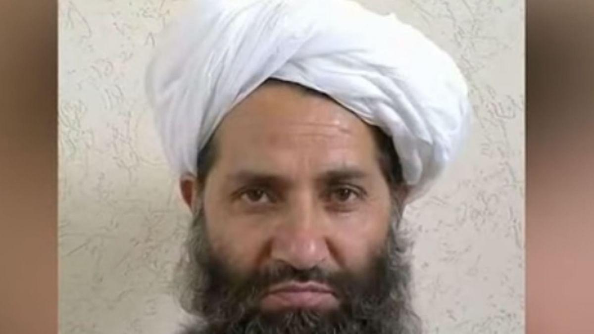 Mullah Haibatullah Akhundzada, who became leader of the Afghan Taliban chief in May. (Photo Courtesy: YouTube Screengrab)