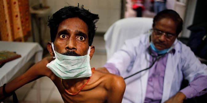 An ancient disease, TB is still one of the world's leading killers, claiming more lives every year than HIV/AIDS, though the two diseases are inextricably linked (Photo: AP)