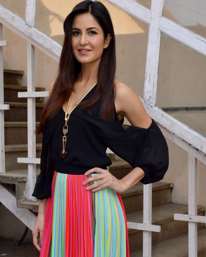 Katrina Kaif during the promotions for Fitoor. (Photo: Yogen Shah)