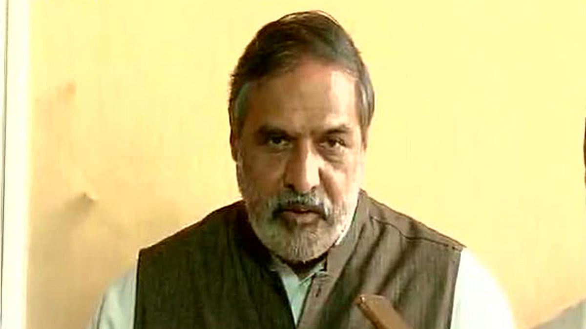 Anand Sharma, Congress spokesperson, has accused the Modi government of phone tapping. (Photo: ANI)