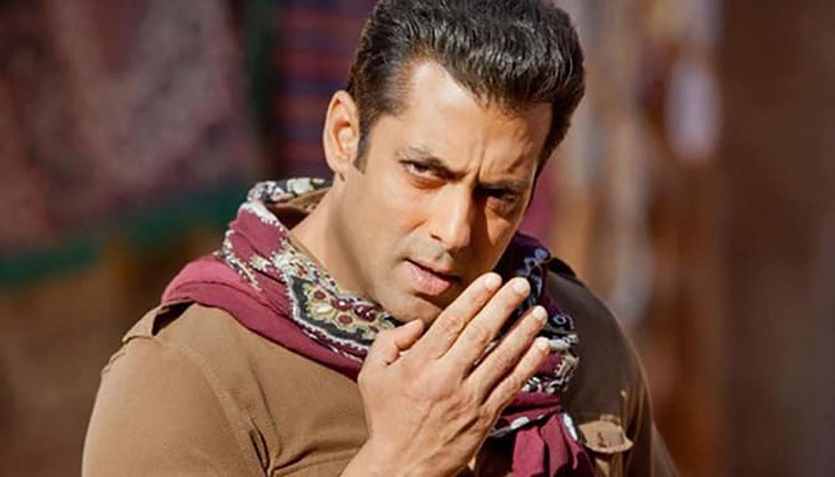 Salman in a still from Ek Tha Tiger