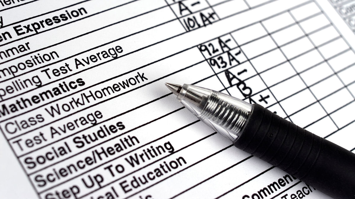 At best that report card defines you only for a period of two months (Photo: iStock)