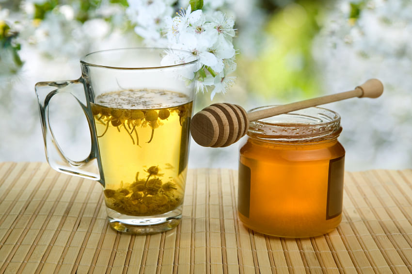 Sipping chamomile leads to an increase of glycine, a chemical that relaxes nerves and muscles.