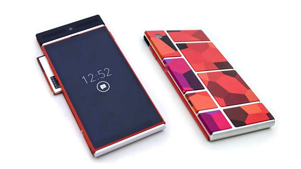 Google Shelves Project Ara - Phone With Interchangeable Parts?