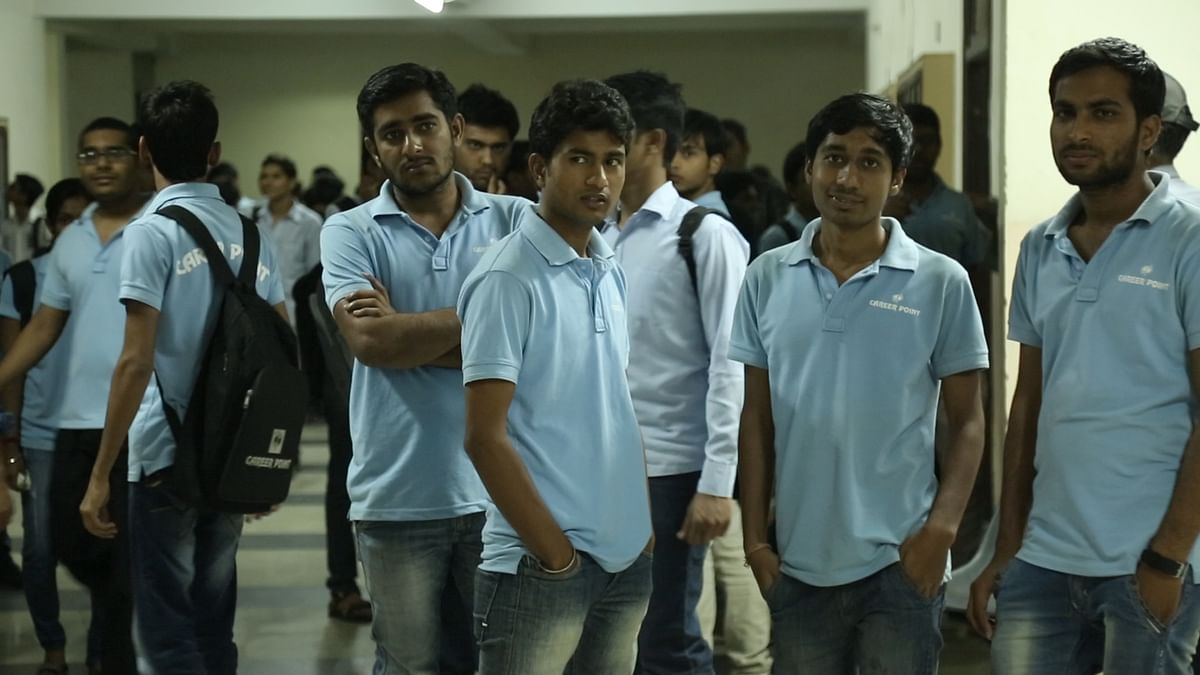 Coaching hubs like the one in Kota are indicators of the growing demand for higher education in India. (Photo: The Quint)