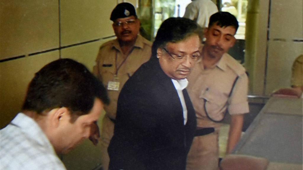 Gautam Khaitan arrives at CBI headquarters in New Delhi. (Photo: PTI)