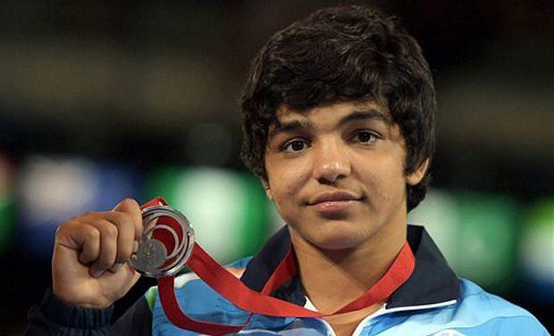 Sakshi Malik qualified from the 58kg category (Photo: Twitter/@DDNewsLive)
