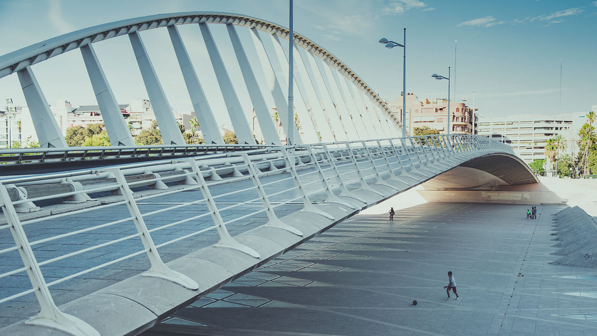 The foot over bridge will connect Mathura Road to adjoining areas and the skywalk will give exclusive connectivity to Pragati Maidan Metro station. Photo for representational purposes only. (Photo: iStock)