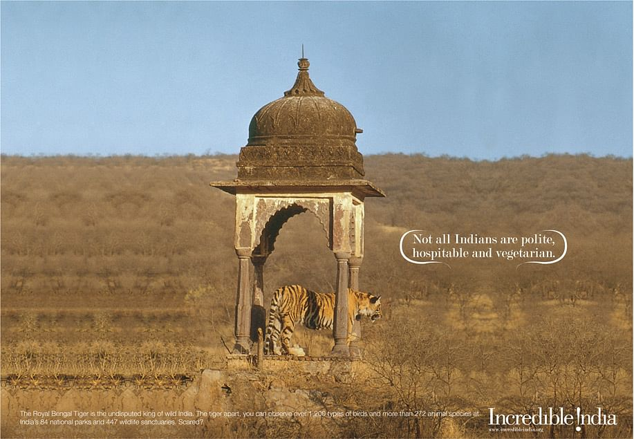 """An <i>Incredible India</i> campaign. (Photo: Incredible India <a href=""""http://incredibleindiacampaign.com/"""">website</a>)"""