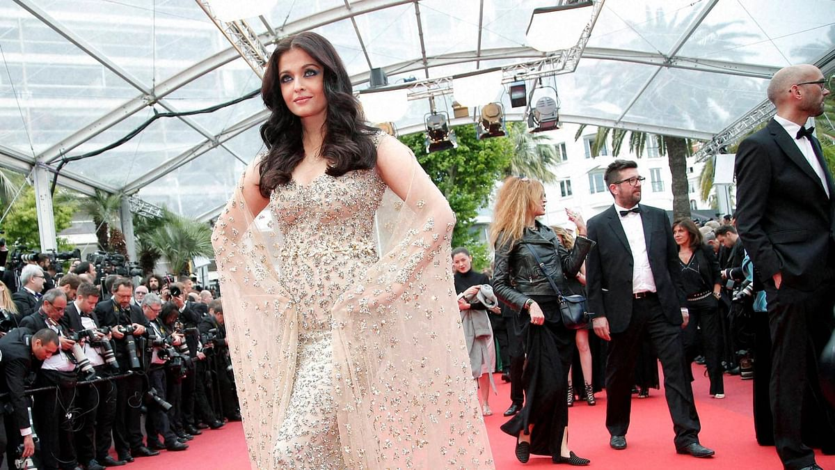 Aishwarya Rai Bachchan at the Cannes Film Festival. (Photo: PTI)