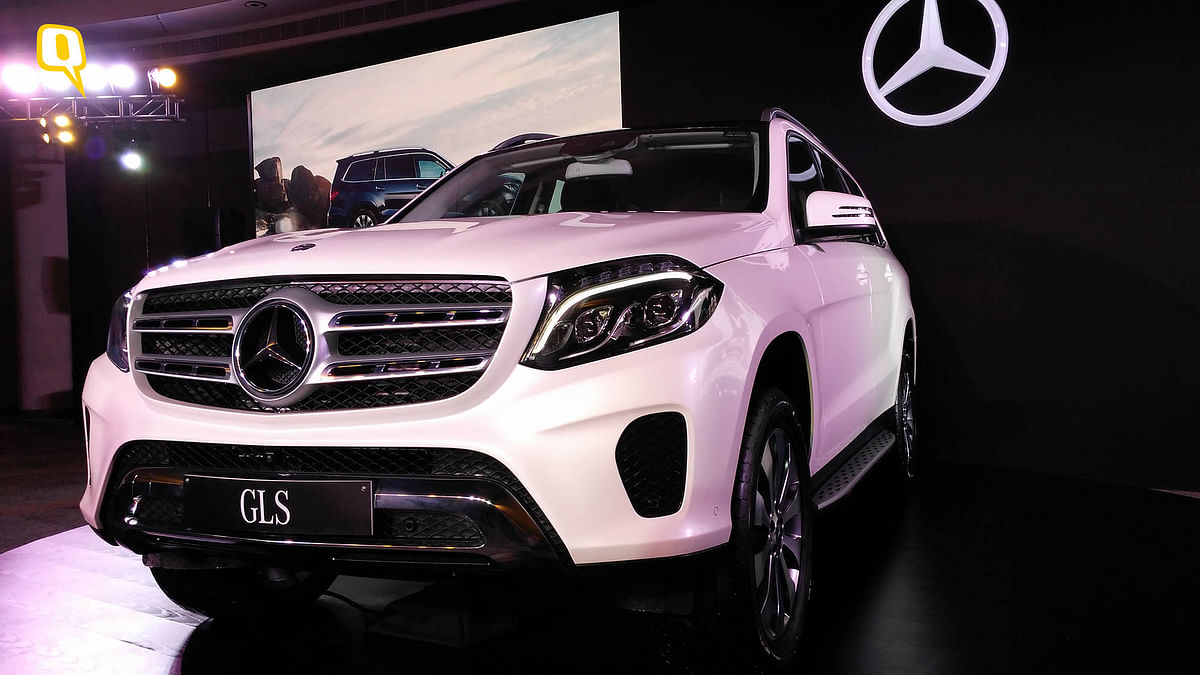 Front grilles of the Mercedes-Benz GLS SUV. (Photo: <b>The Quint</b>)