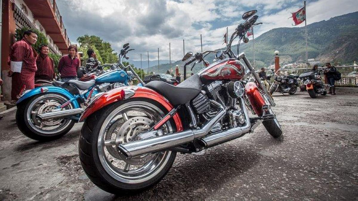 Third edition of International Harley-Davidson H.O.G. Ride was conducted in Bhutan. (Photo: Harley-Davidson)