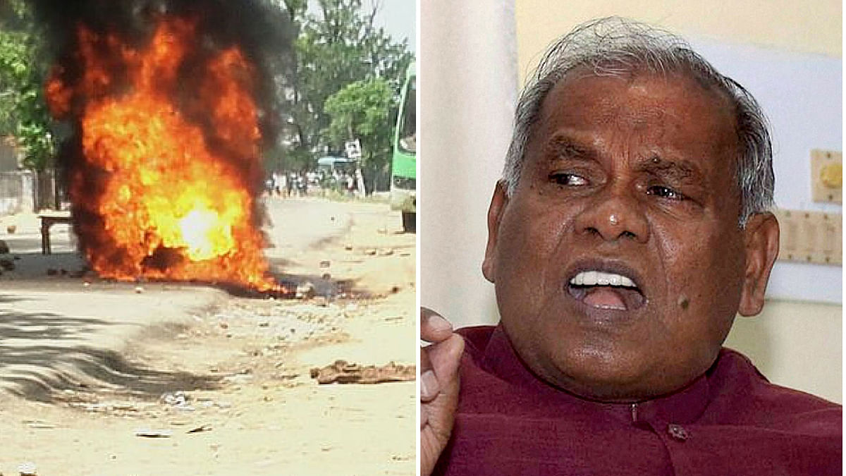 Ex-Bihar CM Jitan Manjhi's Convoy Attacked  in Gaya
