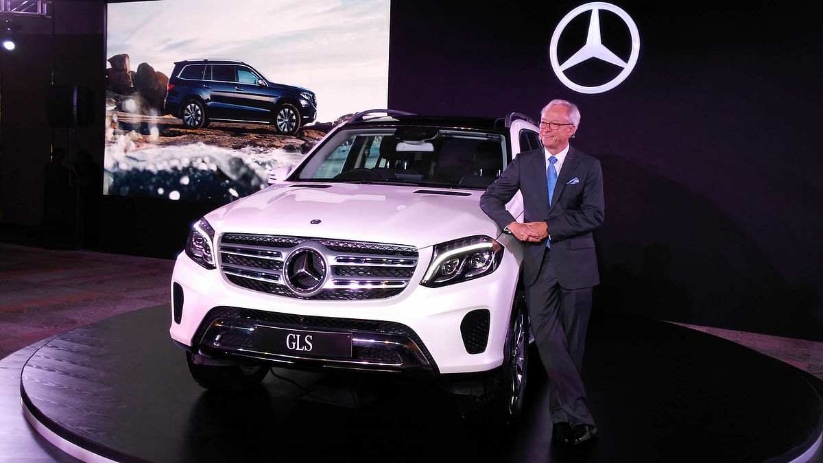 Mercedes-Benz GLS SUV now in India. (Photo: <b>The Quint</b>)