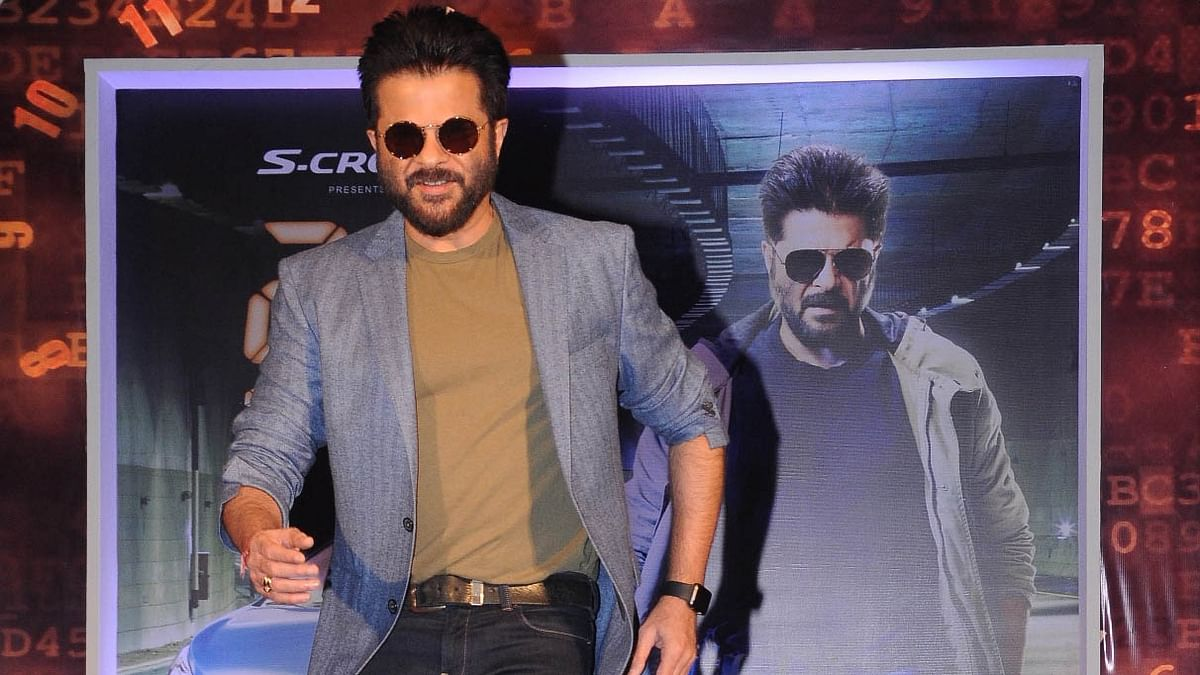 Anil Kapoor at the poster launch of 24 in Mumbai (Photo: Colors)