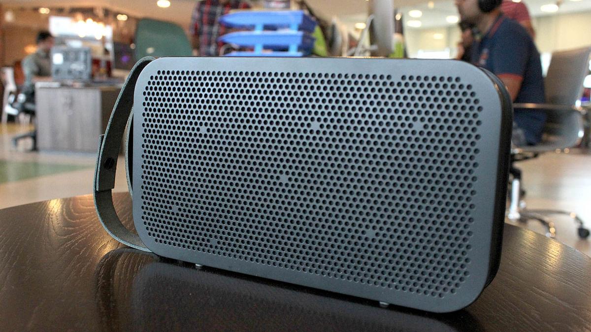 B&amp;O BeoPlay A2 Bluetooth speaker. (Photo: <b>The Quint</b>)