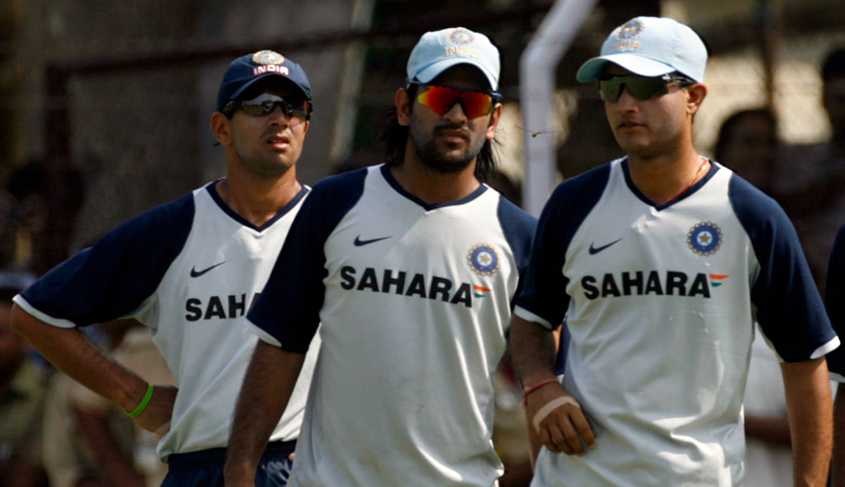MS Dhoni and Sourav Ganguly. (Photo: Reuters)