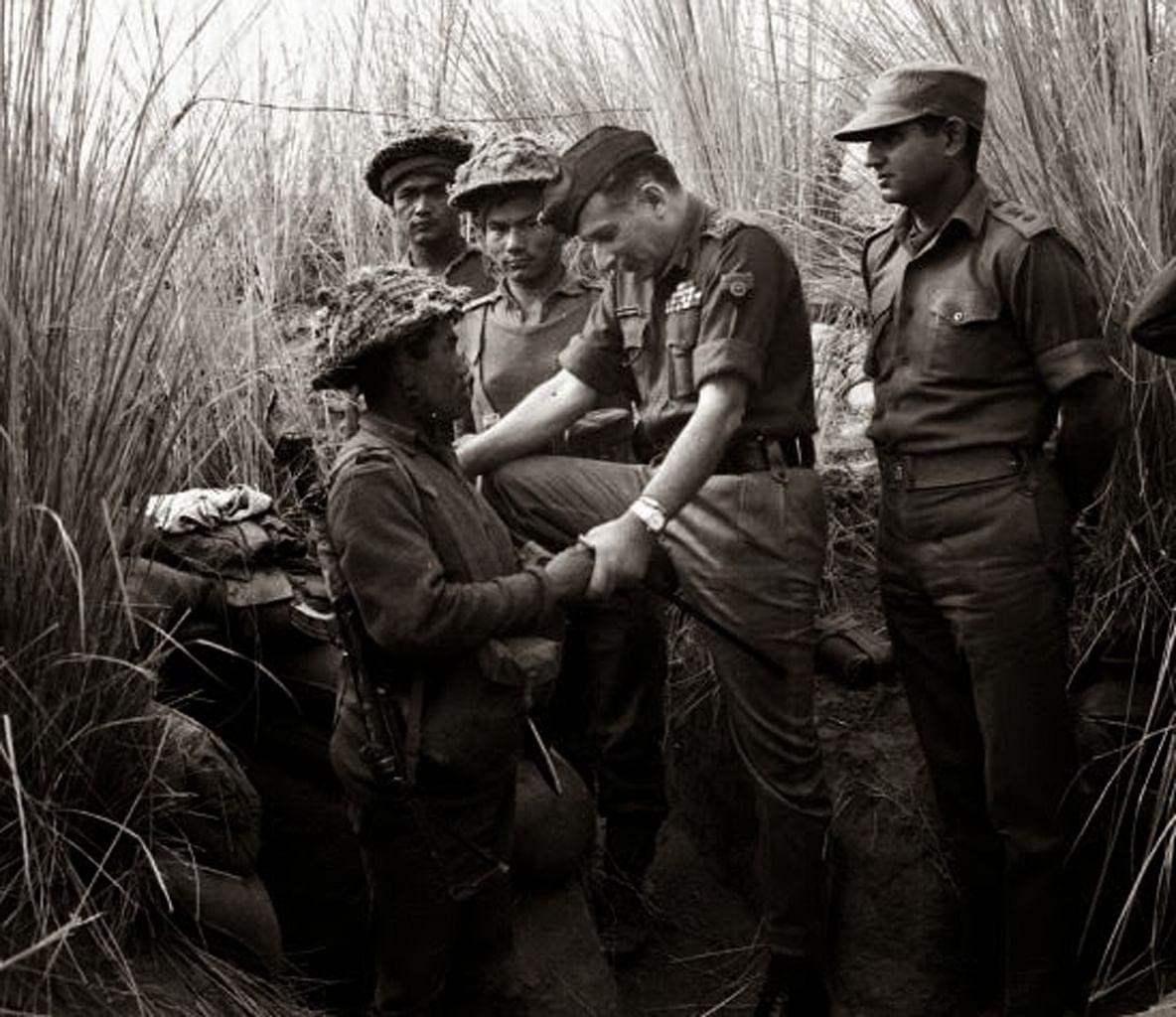 "Sam Bahadur. (Photo Courtesy: <a href=""http://inbministry.blogspot.in/2014/04/sam-bahadur-indefatigable-field-marshal.html"">Major General BNBM Prasad &amp; DPR Photo Division</a>)"