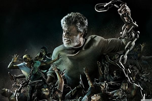 First look poster of <i>Kabali&nbsp;</i>by Vinci Raj. (Photo Courtesy: The News Minute)