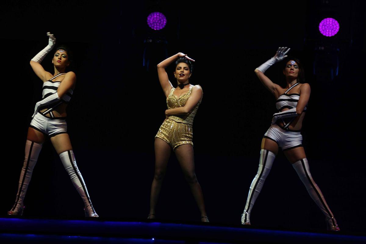 Priyanka Chopra at her performance. (Photo: AP)