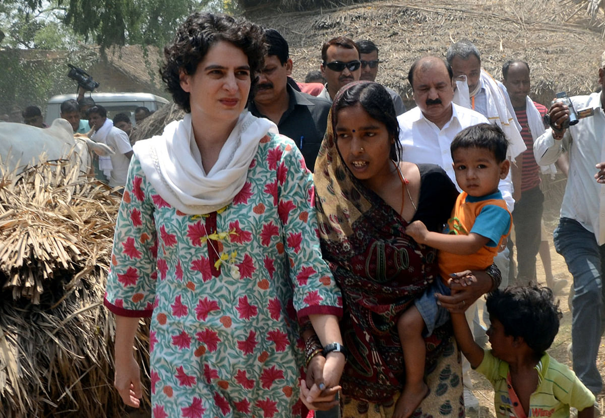 While Varun Gandhi has mulled the idea of joining the Congress, Priyanka Gandhi is said to have asked him why he would like to switch sides. (Photo: IANS)