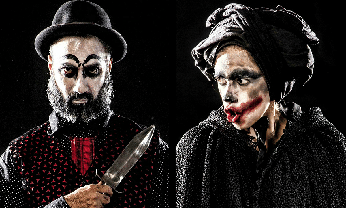 Ranvir Shorey as Macbeth and Kalki Koechlin as Lady Macbeth