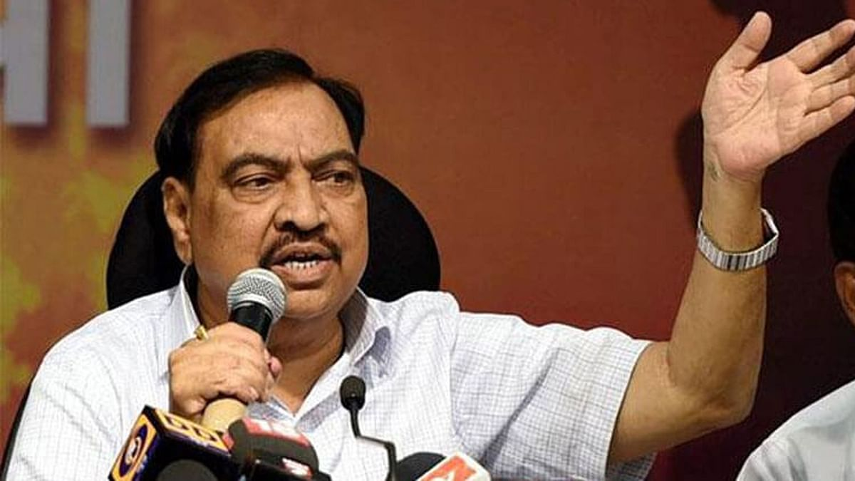 After Quitting BJP, Eknath Khadse Joins NCP in Pawar's Presence
