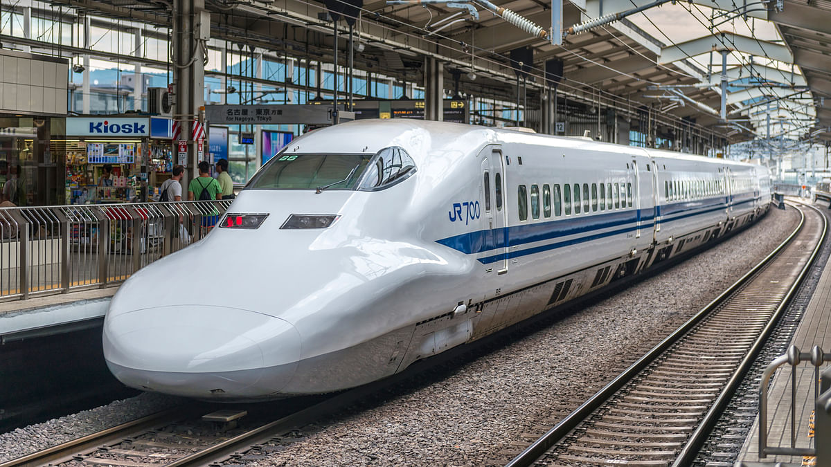 The bullet train in Kyoto, Japan. Image used for representation. (Photo: iStock)