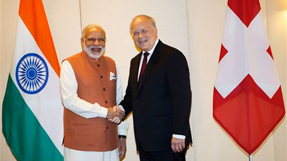 The issue of black money figured during the discussions between Prime Minister Narendra Modi and Swiss President Johann Schneider-Amman earlier this week. (Photo: AP)