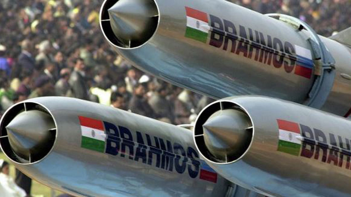 "BrahMos Missiles. This image is for representational purposes. (Photo Courtesy: <a href=""https://twitter.com/SputnikMundo/status/736589130197405697"">Twitter/@SputnikMundo</a>)"