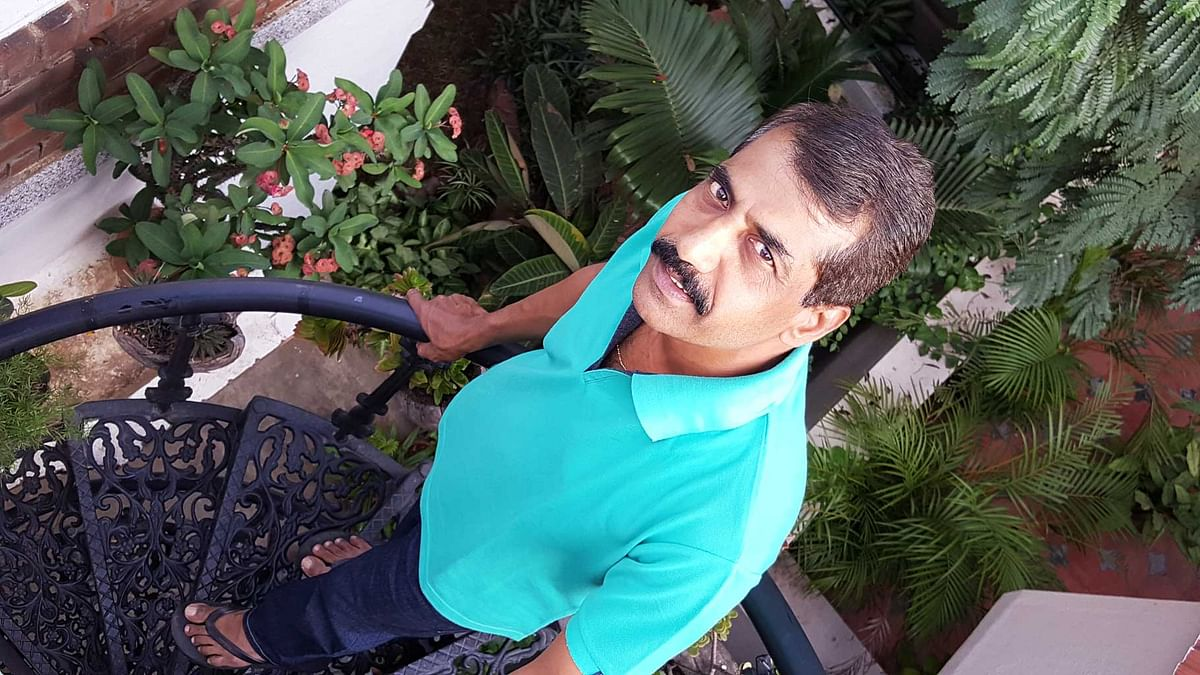 AR Shiv Kumar believes in getting maximum ROI from his house by going green. (Photo: <b>The Quint</b>/Parul Agrawal)