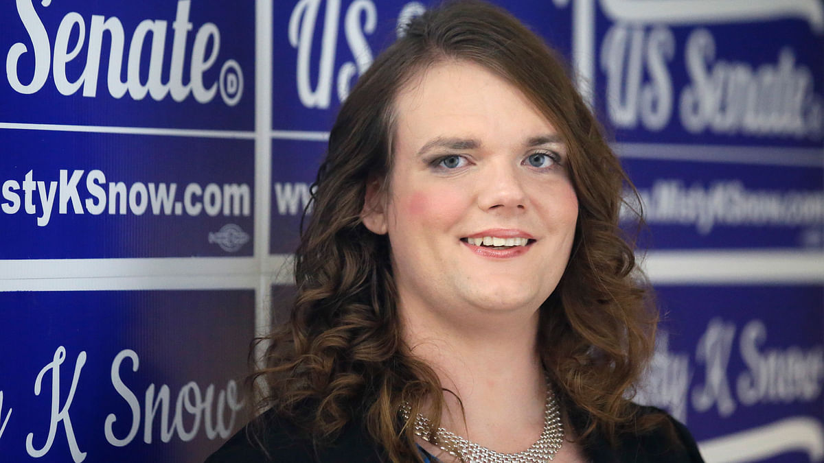 Misty Snow, if elected, could be the youngest senator of the chamber. (Photo: AP)