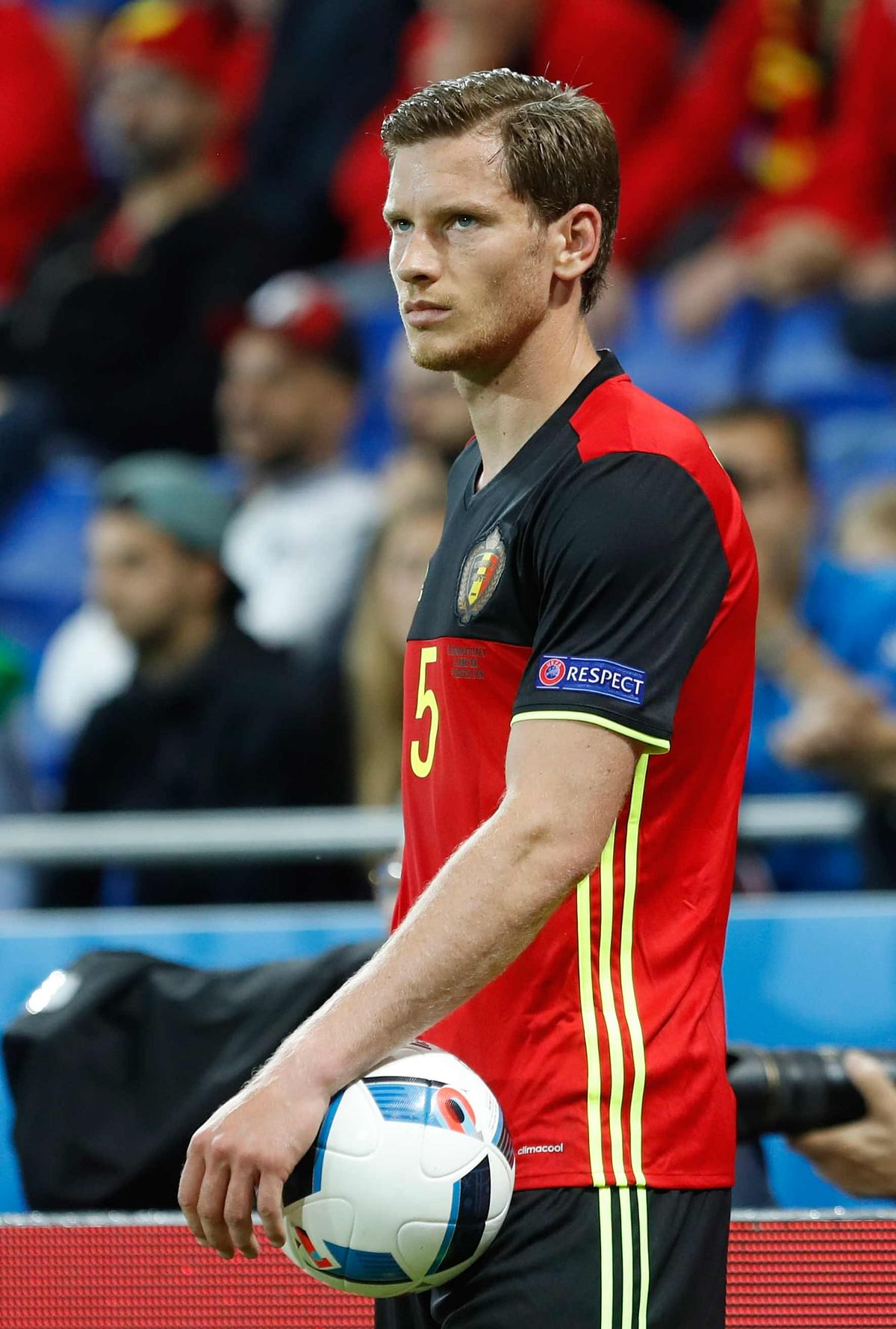 Belgium Defender Jan Vertonghen. (Photo: AP)
