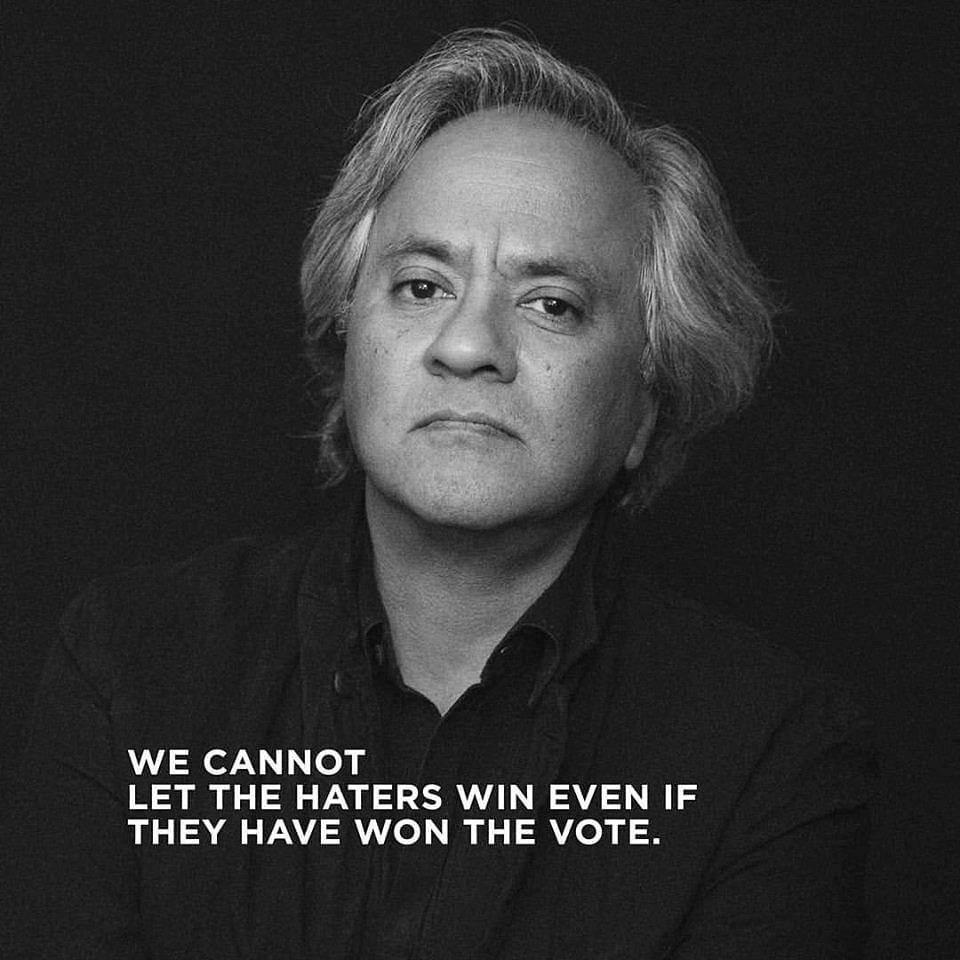 Anish Kapoor says he was horrified by the outcome of the vote. (Photo: Facebook)