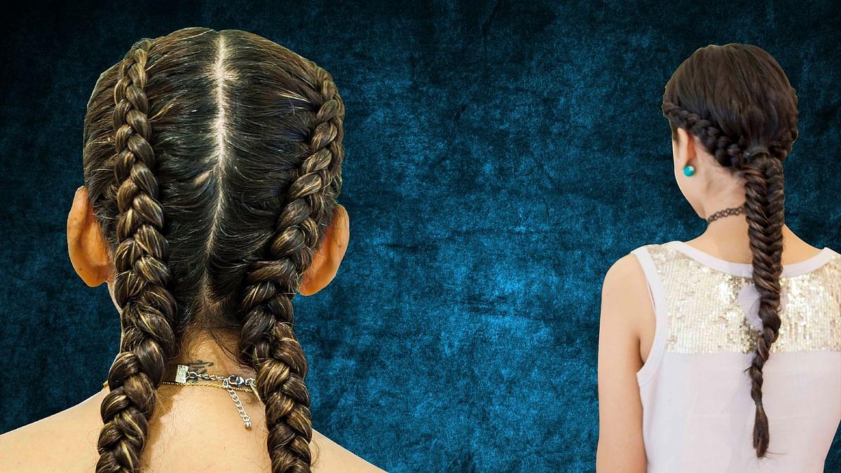 "Boxer braids and fishtail brades. (Photo Courtesy: <a href=""https://www.facebook.com/rodankersalon/"">Rod Anker Salons</a>)"