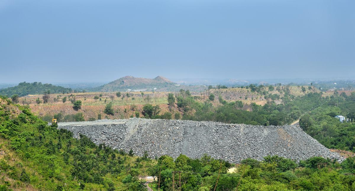 The uranium mine in Turamdih. (Photo: Tanmoy Bhaduri)