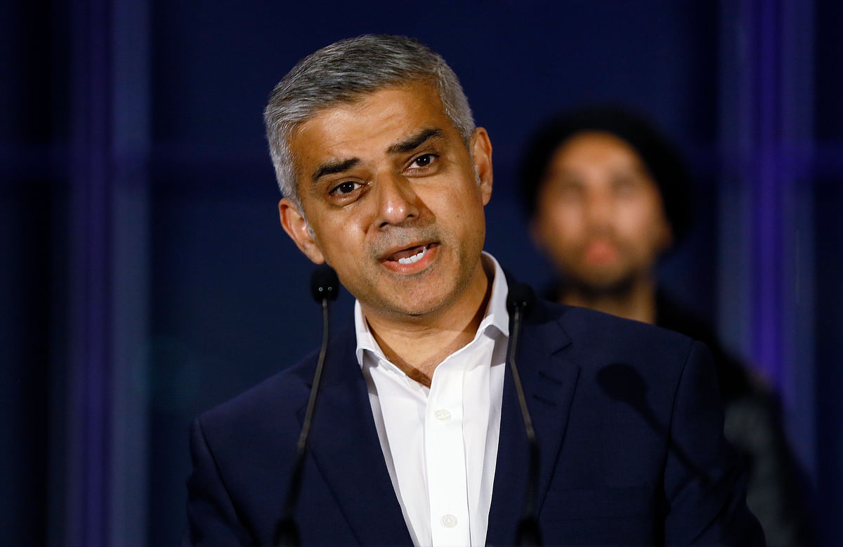 London's mayor, Sadiq Khan on Sunday 12 June 2016, pledged to fight until the moment the polls close to persuade Britons to vote to remain inside the European Union bloc, in the upcoming 23 June  referendum. (Photo: AP)