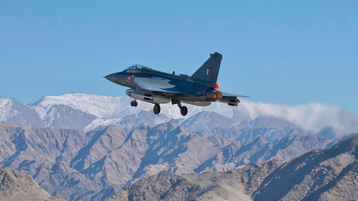 """Tejas claims to have a brilliant  safety record never registered by any fighter jet from around the globe. (Photo Courtesy: <a href=""""http://gallery.tejas.gov.in/Gallery/Tejas-winter-trials-at-leh/i-bwL6PQn/A""""><i>ADA/Rana</i></a>)"""