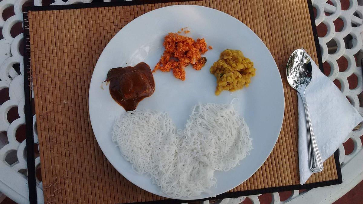A traditional Sri Lankan breakfast (Photo: Suktara Ghosh)