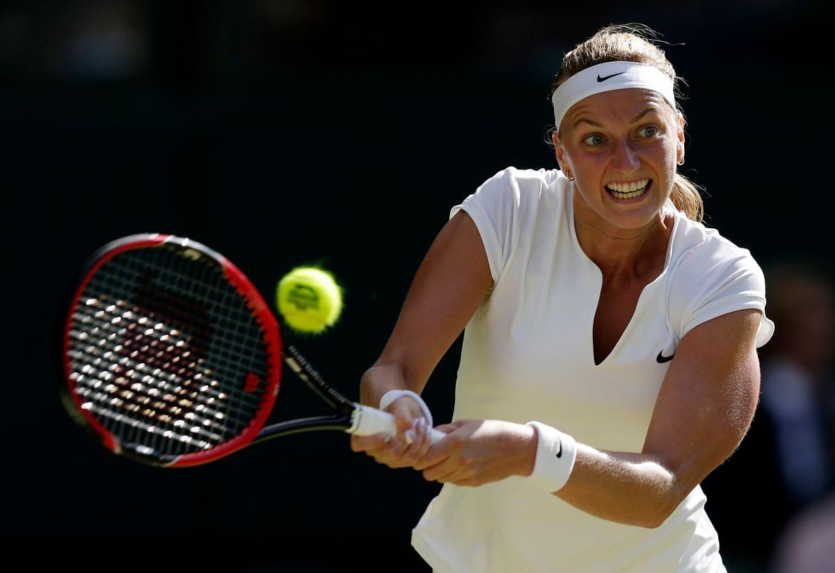 Petra Kvitova. (Photo: Reuters)