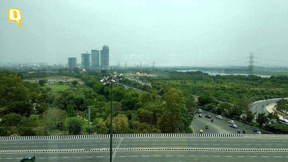 An HDR sample on Mi Max taken through a glass window. The details get subtly accentuated with a slight boost in saturation. (Photo: <b>The Quint</b>)
