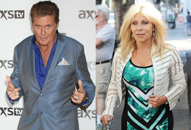 David Hasselhoff and Pamela Bach's divorce, after years of PDA, came as a great shock (Photo courtesy: Twitter)